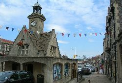 Chipping Sodbury - clock tower (ancestral town)