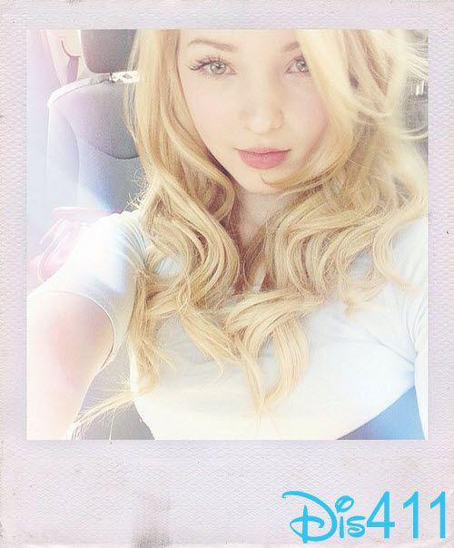Photo: Dove Cameron Assures Everyone She Still Has Blonde Hair December 27, 2014