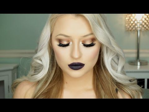 Urban Decay Gwen Stefani Palette Tutorial | Blue Smokey Eye - YouTube