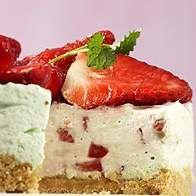 Erdbeer-Frischkäse-Torte nach WW (Kühlschranktorte) | Thermomix Rezeptwelt