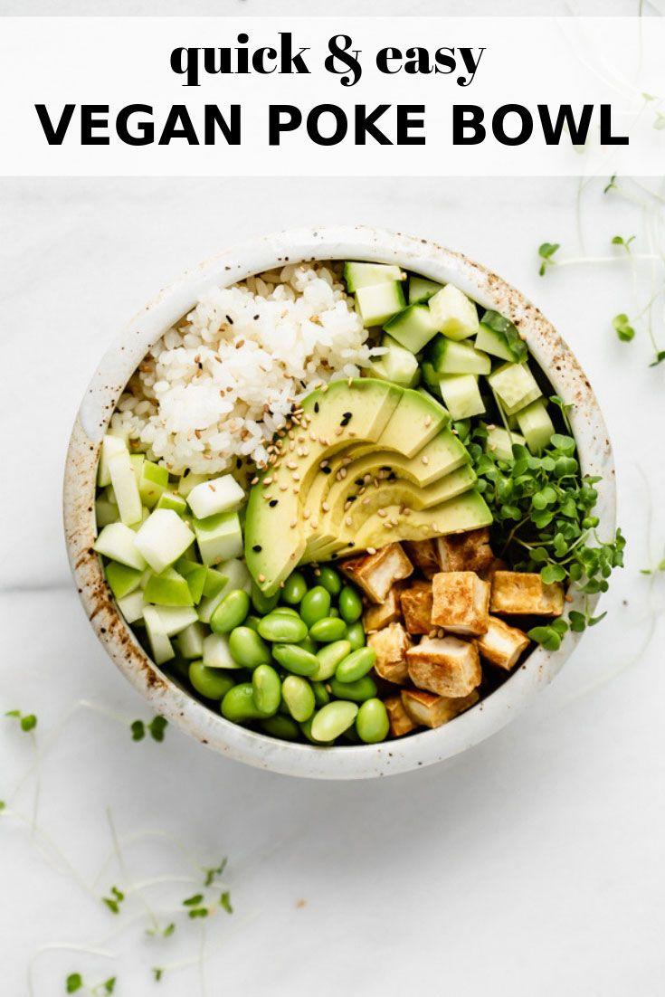 Vegan Kung Pao Tofu Rice Bowls This Savory Vegan Recipe In 2020 Savory Vegan Tofu Tofu Recipes Vegan