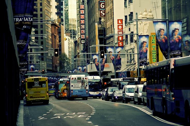 George Street, Sydney. March 2012.