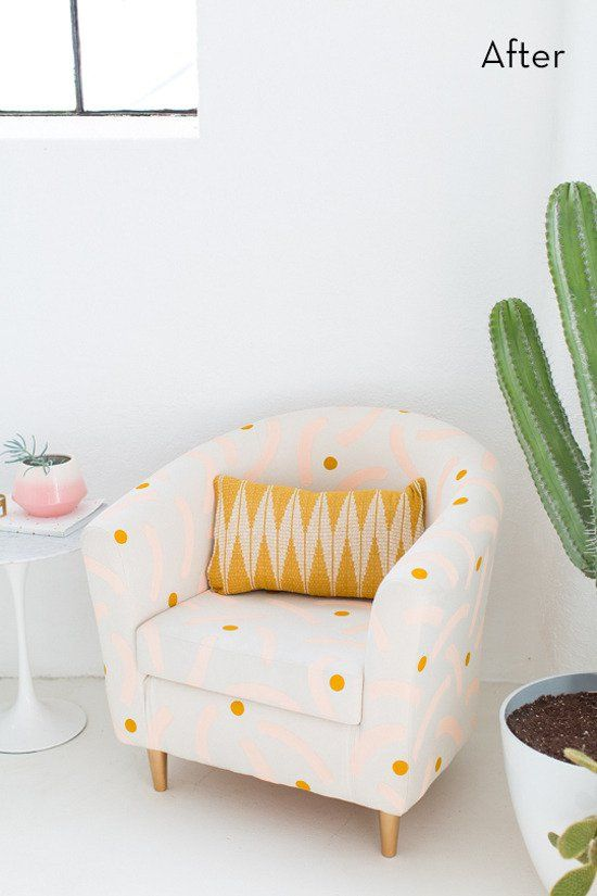 Weekend Project: Easy Ikea Hack Chair Makeover