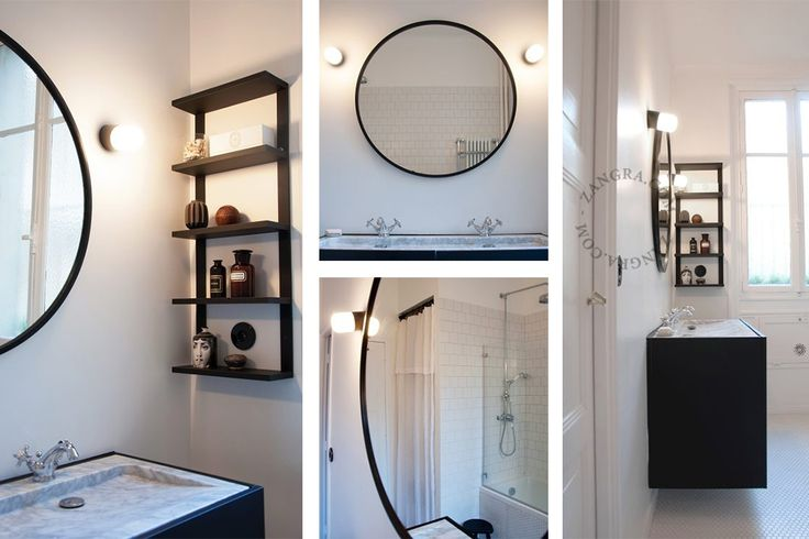 black porcelain lamp