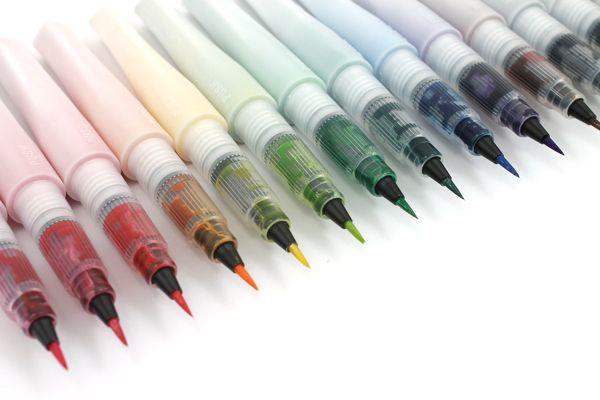 Kuretake Zig Wink of Stella Glitter Brush Pen - Black - KURETAKE MS-55-010