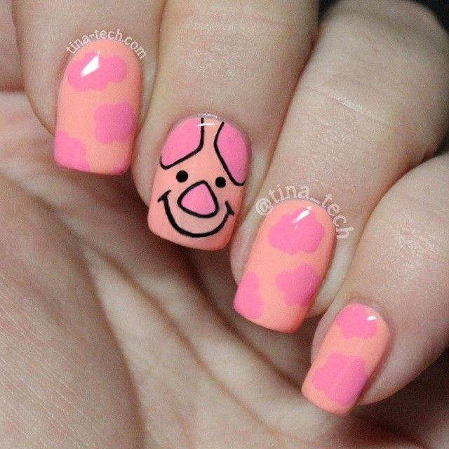 Pig Nail Art: 1000+ Ideas About Pig Nails On Pinterest