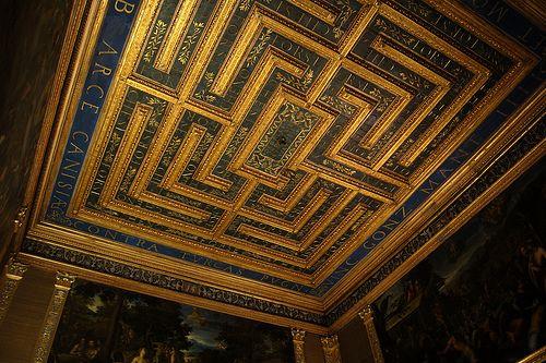 Mantova - Palazzo Ducale - Sala del Labirinto   #TuscanyAgriturismoGiratola