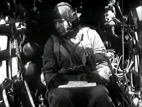 Вынужденные прыжки с парашютом - 1945. Учебный фильм Красной Армии