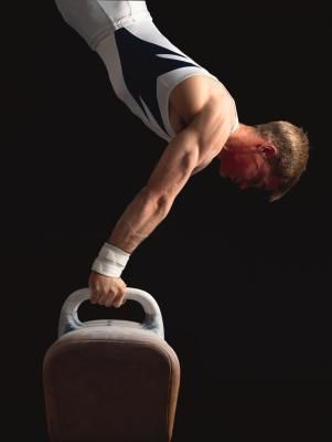 A Male Gymnast's Diet