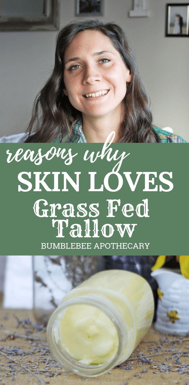 Gründe, warum die Haut Gras liebt, das mit Talg gefüttert wird Talg für die Haut | #grassfedtallow #tal … – Natural Motherhood | Bumblebee Apothecary