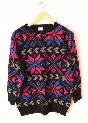 Kup mój przedmiot na #vintedpl http://www.vinted.pl/damska-odziez/bluzy-i-swetry-inne/12605263-wzorzysty-sweter-jeffrey-rogers-rozmiar-s-hm-polecam