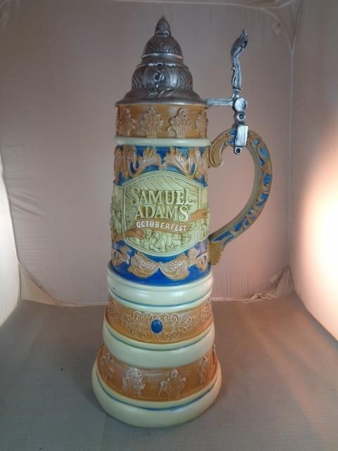Novelty Samuel Adams Octoberfest 3 Ft Beer Stein Display