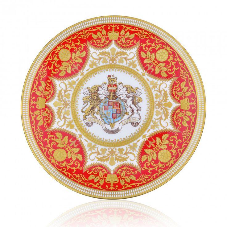 Royal Palace Crest fine bone china 21cm plate Royal