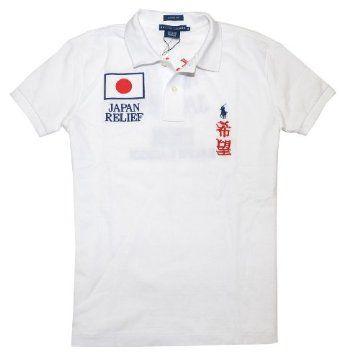 Ralph Lauren Women Japan Relief Logo Classic Fit Polo T-shirt (XL, White) Ralph Lauren. $79.99