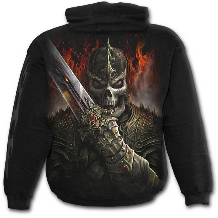 Mens DRAGON WARRIOR Hoody Black Shop Online From Spiral Direct, Gothic  Clothing, UK