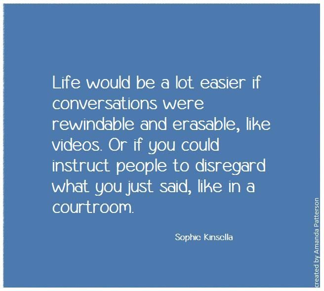 25 best books by sophie kinsella images on pinterest book quotes amanda patterson on fandeluxe Choice Image