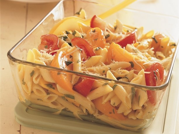 Penne Pasta And Fresh Tomatoes Yummy In My Tummy