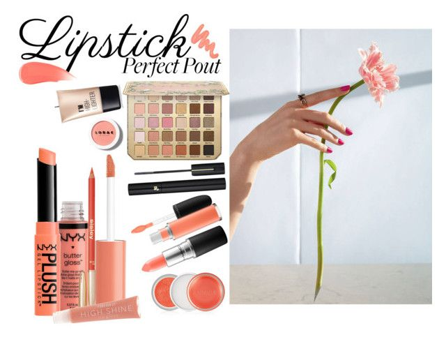 Perfect pout by nicolepuppy on Polyvore featuring beauty, Charlotte Russe, NYX, MAC Cosmetics, Lancôme, Forever 21, Sisley, LORAC, Obsessive Compulsive Cosmetics and Clinique
