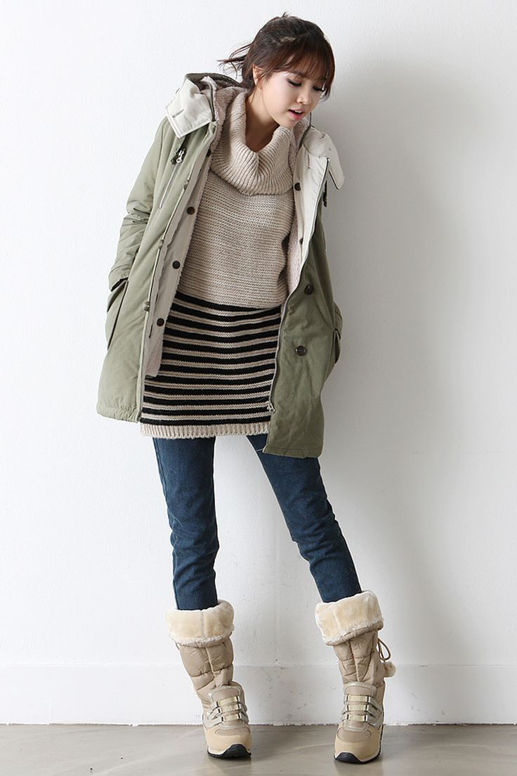 The Gallery For Korean Winter Fashion Cute