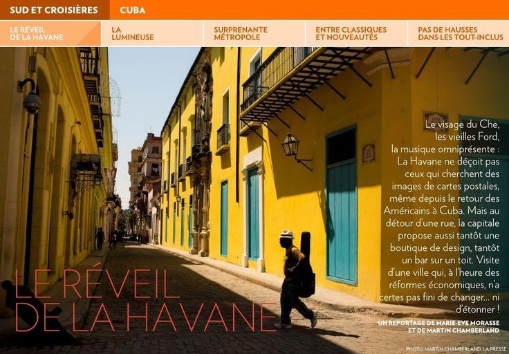 Le réveil de La Havane - La Presse+