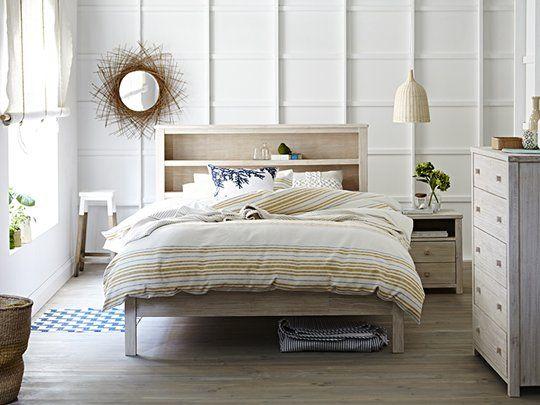 Ocean Grove Bookend Bed Frame: Queen Bed Frame