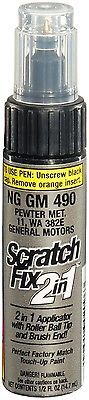 Dupli-Color NGGM490 Pewter Metallic GM Scratch Fix 2in1 Paint - 0.5 oz in eBay Motors, Automotive Tools & Supplies, Automotive Repair Kits, Scratch Repair Kits & Tools | eBay