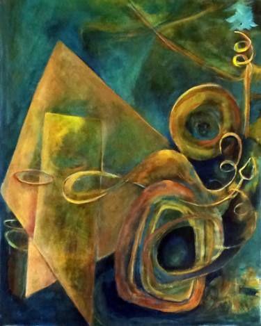 "Saatchi Art Artist Janet STRAYER; ""Clotho"" www.janetstrayer.com"