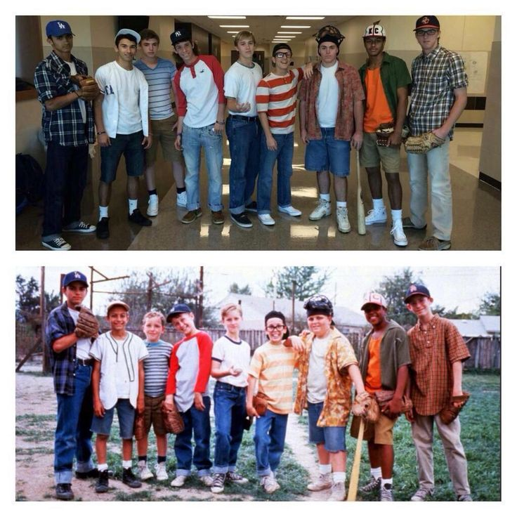 The Sandlot group Halloween costume