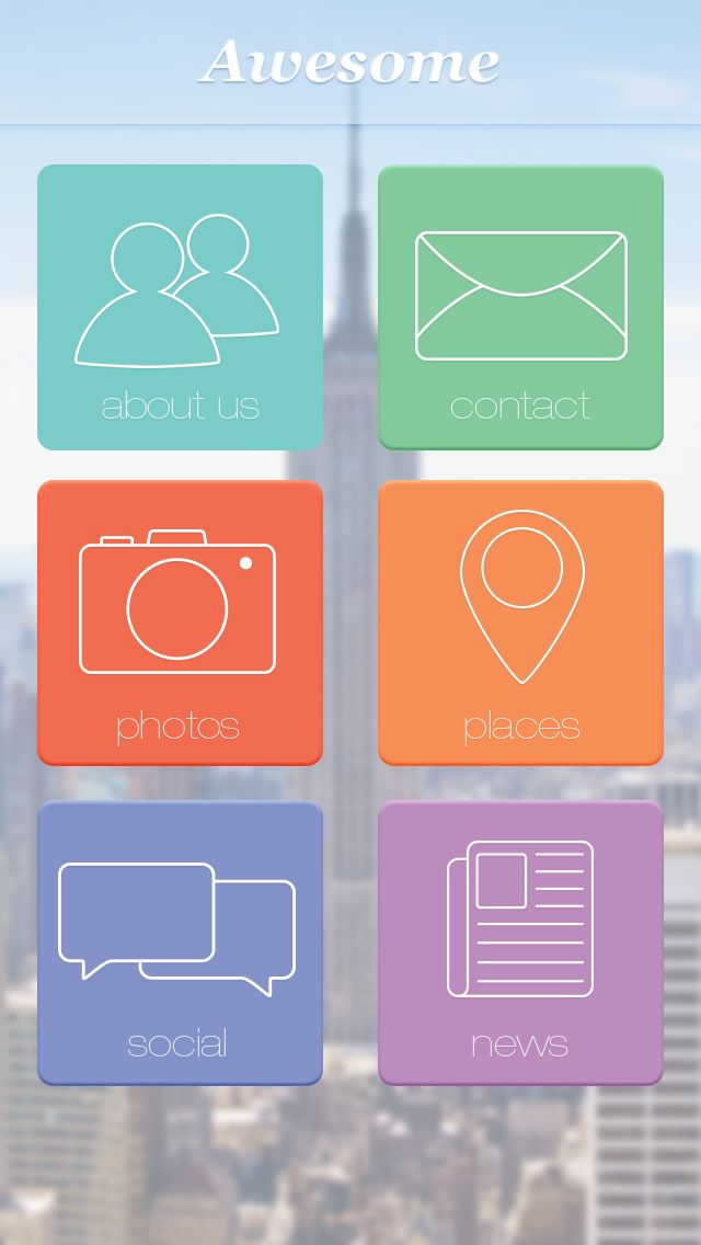Amazing looking buttons! http://webapptool.com/photoshop-design-functional-mobile-app/