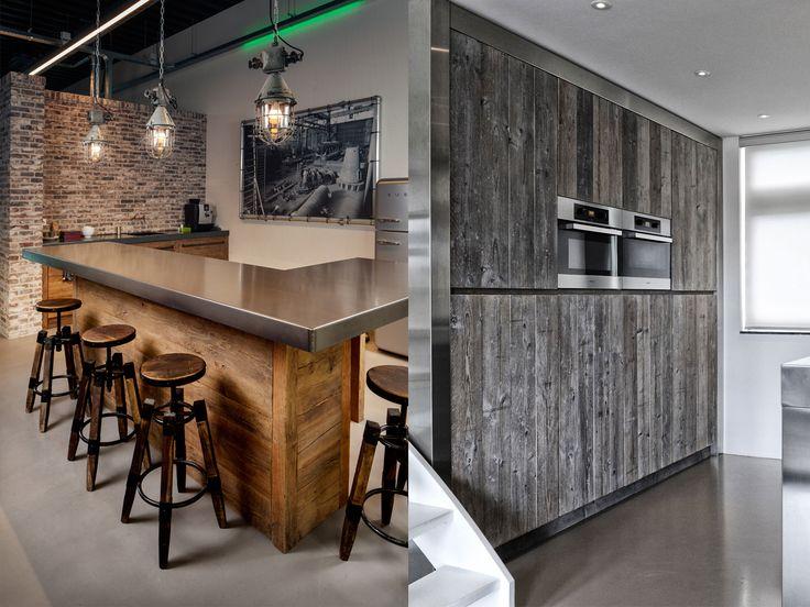 Industriële keukens van RestyleXL zijn keukens van hout in combinatie met staal of ijzer.Informeer hier naar onzeindustriëlekeukens!