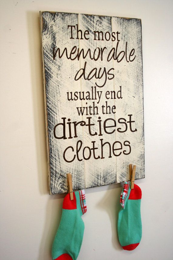 Laundry Room Sign The Most Memorable Days Pallet Sign Shabby Chic Decor Rustic Pallet Sign Wall