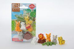 Iwako Safari Animals - Blister Pack