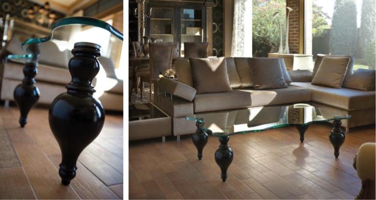 Испанская мебель ручной работы > Дизайнерская мебель > Коллекция Классика > Лола Гламур (Испания) Журнальный столик LG20113