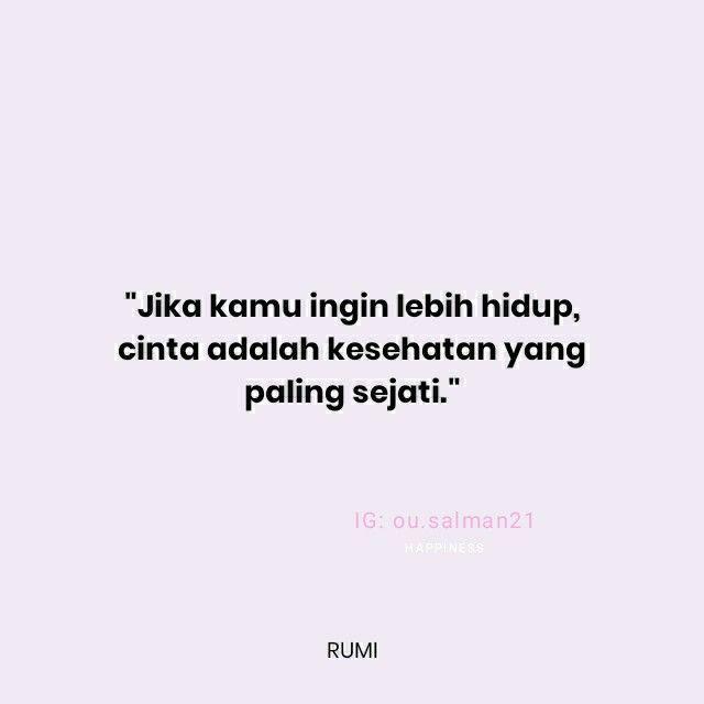 Quotes Jalaluddin Rumi Inspirasional Rumi Bijak