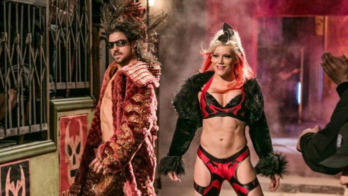 John Hennigan and Taya Valkyrie Engaged