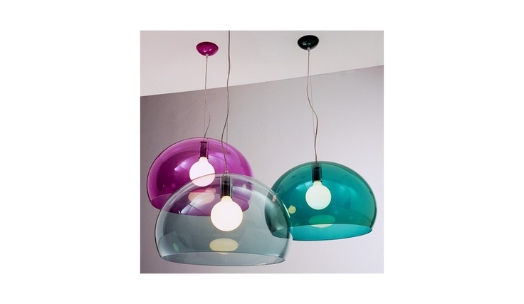 FL/Y Icon Suspension Lamp   Kartell  