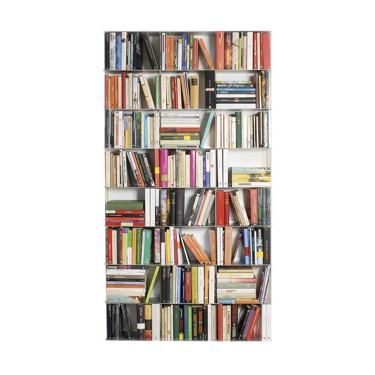 Krossing Regal für Bücher - 24 Fächer - Kriptonite - A041569.000