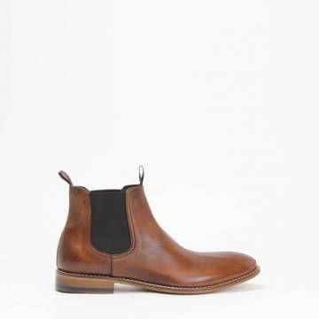 Morena Gabbrielli D2474 Chelsea Boot Tan Leather