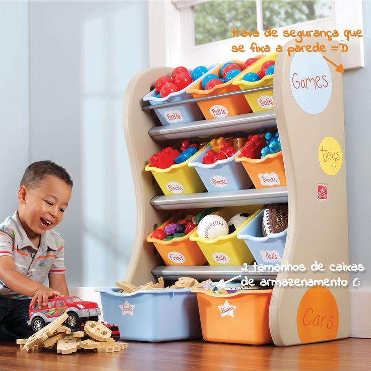 Organizador de Brinquedos Silvestre Step2 » Organizadores