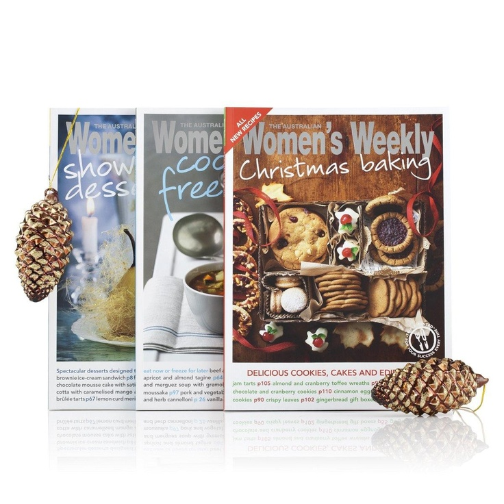 Australian Women's Weekly Christmas Essentials Cookbook 3-Pack  $24.95