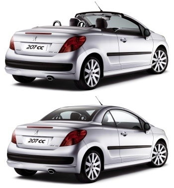 Peugeot 207 CC hard shell - My ultimate dream convertible.