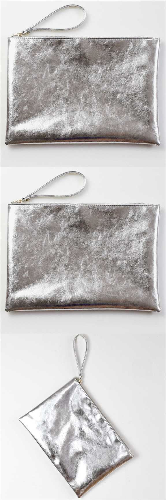 leather clutch wristlet clutch purse bags metallic clutch silver purse zipper envelope bag clutch. Save.extra 20% OFF on $45+ Sitewide till 30th use code SUMMER20%OFF
