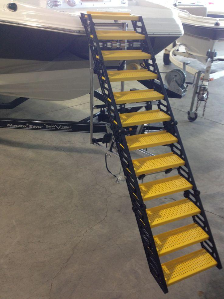 Wag Boarding Steps Model Slm 12 On Bow Ladder Of Deck