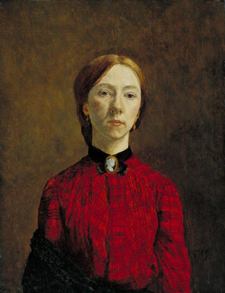 Gwen John, 'Self-Portrait' 1902