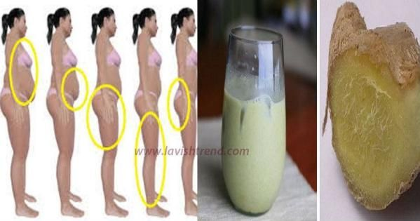 drinking one cup of this mixture will melt 1 inch of your fat
