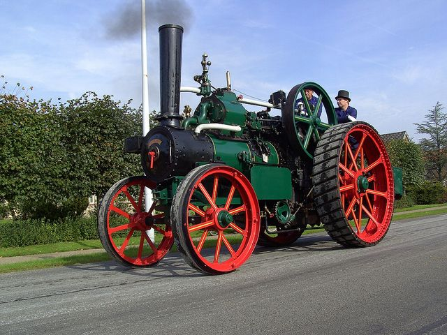 Kemna Steam Tractor