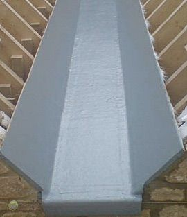 box gutter system - Butterfly Roof