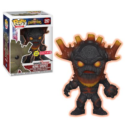 """Pop! Games: Marvel – Contest of ChampionsThe mobile fighting game Marvel - Contest of Champions is coming to Pop!As you assemble your ultimate team of champions you can now havePop! versions of some of your favorite characters!This series includes King Groot, the mystical Guillotine, Civil Warrior, and Venompool. Rounding out the series comes a 6"""" version of Howard the Duck in his very own """"Duck Mech!""""Look for exclusives!At Hot Topic find a Secret Empire version of Civil Warrior!A s..."""