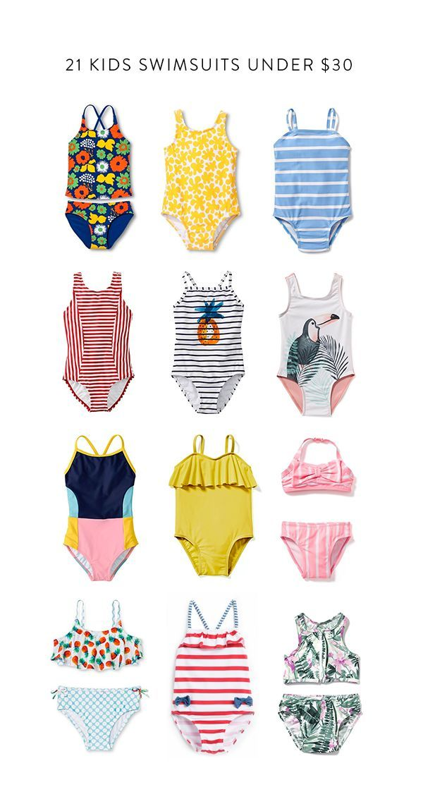 21 of the best kids swimsuits this season all under $30!