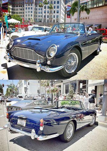 Aston Martin 1962 DB4 Drophead Coupe -